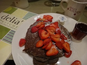 buckwheat pancakes - Delia's Kitchen - Oak Park, Illinois